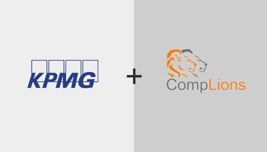 KPMG partnert met governance, risk & compliance softwarebedrijf CompLions