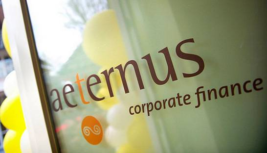 Aeternus Corporate Finance door grens van 30 medewerkers