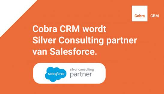 Cobra CRM wordt Silver Consulting Partner van Salesforce