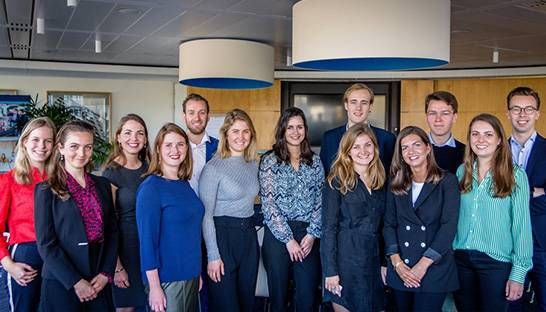Young professionals gestart in traineeships van Berenschot