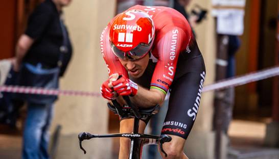 Data-analyse: 'Dumoulin had podium gereden in de Giro'