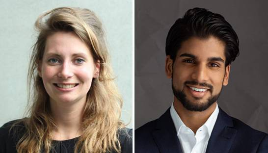 Anouk de Louw en Ravi Panday starten als Young Executives