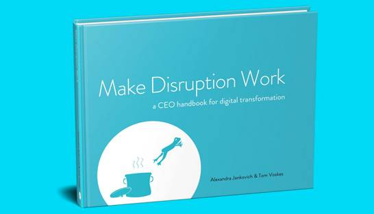 SparkOptimus boek 'Make Disruption Work'  in Nederlands uitgebracht
