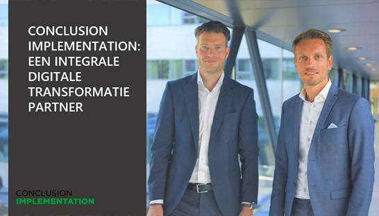 Conclusion Implementation: een integrale digitale transformatiepartner