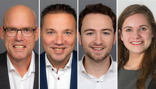 Vier consultants starten in HR Transformation-tak van EY