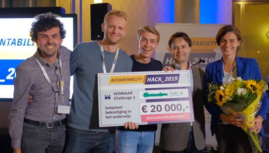 Birch Consultants wint overheidsinitiatief Accountability Hack