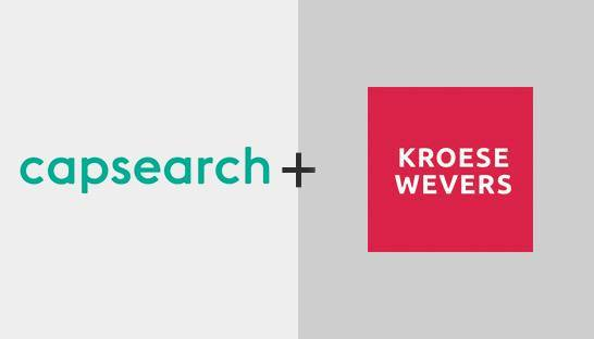 KroeseWevers Corporate Finance zet Capsearch in voor klanten