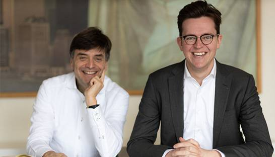 Fred Stokvis en Cyriel Hakkers over strategie boutique Volt Strategy