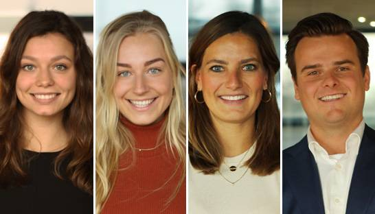 Vier Young Executives over hun start bij Boer & Croon
