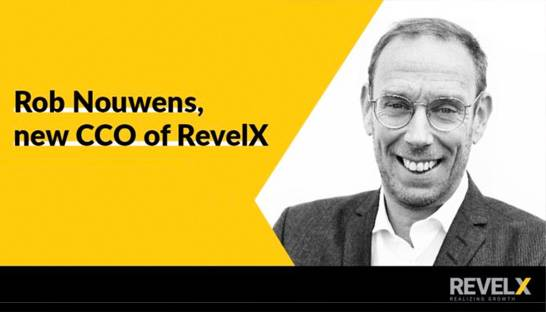 Rob Nouwens chief commercial officer bij RevelX