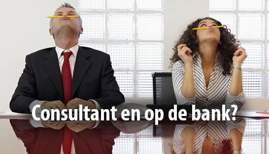 Consultant en op de bank? Werk aan marketing en sales