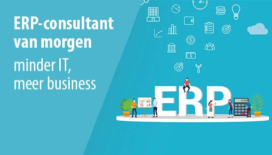 De ERP-consultant van morgen: minder IT, meer business