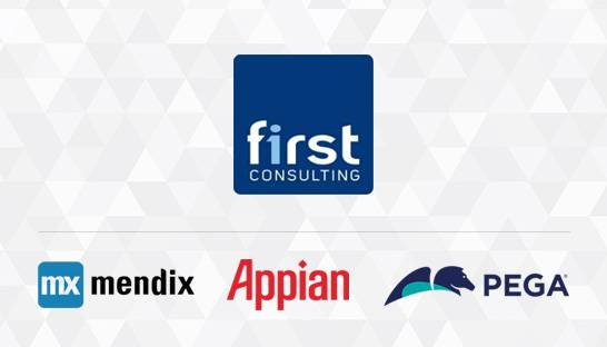 First Consulting zet in op combinatie van BPA en low-code