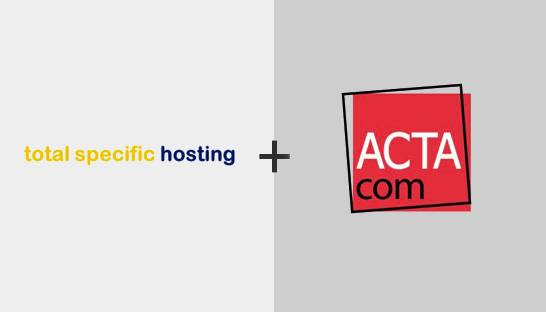 Total Specific Hosting lijft IT-onderwijsspecialist Actacom in