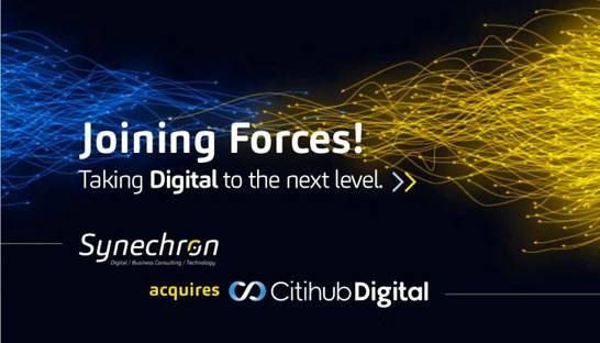 Synechron neemt financial services specialist Citihub over