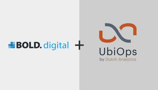 BOLD.digital voegt UbiOps platform toe aan data science diensten