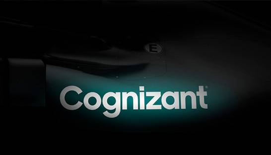 Cognizant wordt titelsponsor van Aston Martin F1-team