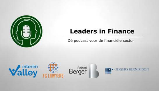 Roland Berger verbindt zich aan Leaders in Finance-podcast