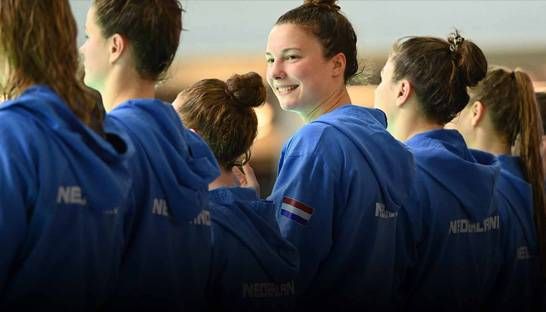 Vasco Consult en de waterpolodames: 'Sponsoren doe je samen'