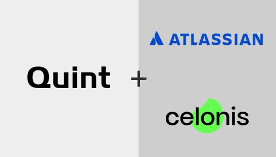 Quint wordt implementatiepartner van Atlassian en Celonis