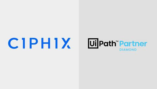 Ciphix wordt eerste UiPath Diamond Partner in Nederland