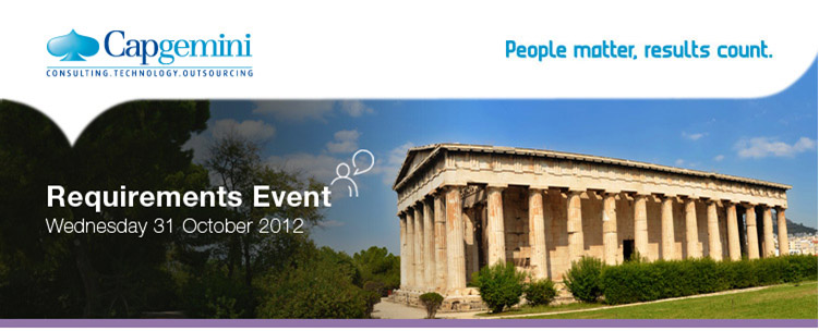 Capgemini - Requirements Event