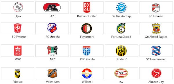 20 Voetbalclubs