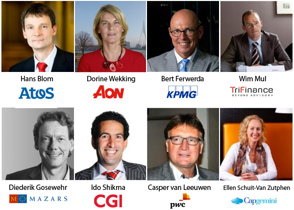 9 professionals van adviesbureaus in HR Top 100