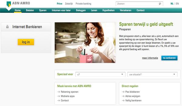 ABN AMRO - Homepage