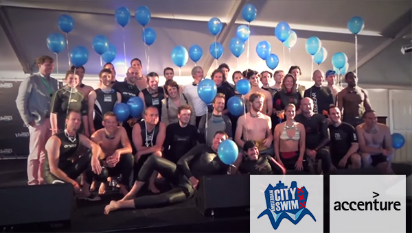 Accenture team - Amsterdam City Swim, Accenture