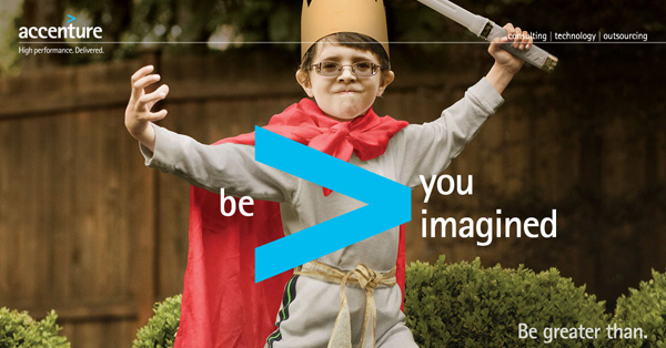 Accenture - Be greater than you imagined