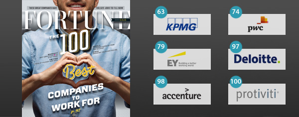 Adviesbureaus in Fortune 100