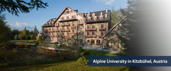 Alpine University in Kitzbuhel, Austria