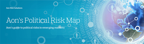 Aon Political Risk Map