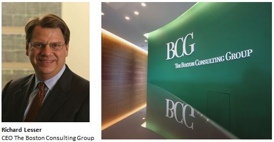 BCG CEO Richard Lesser