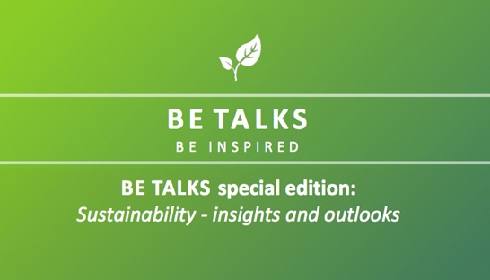 BeTalks Sustainability 2019