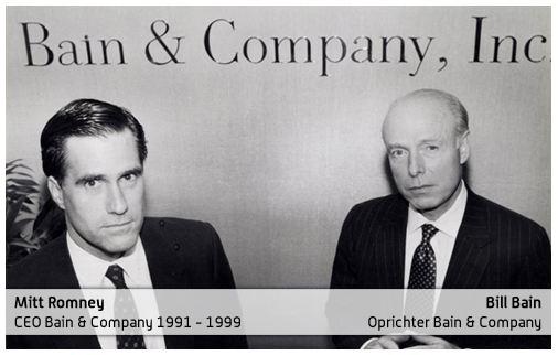 Mitt Romney - Bain & Company CEO