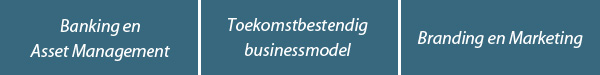 Banking en Asset Management | Toekomstbestendig businessmodel | Branding en Marketing