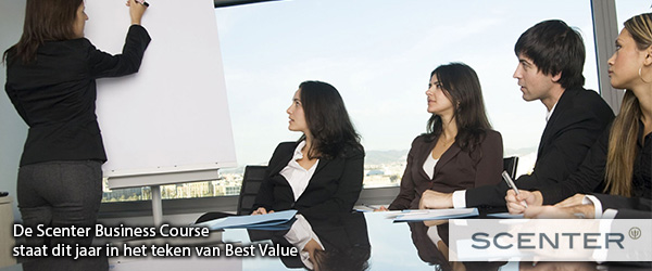 Best Value neemt vlucht - Scenter