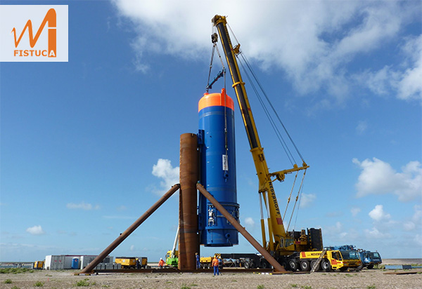 Blue Piling Technologie