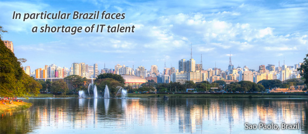 Brazil faces a shortage of IT talent