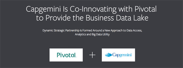 Capgemini en Pivotal sluiten Big Data partnership