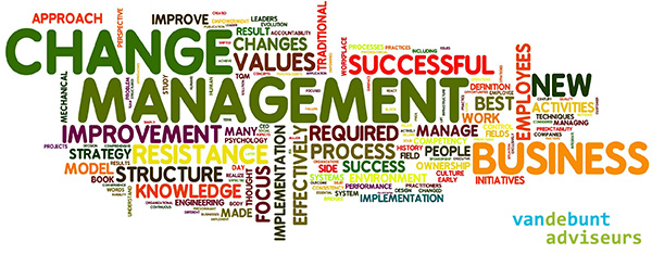 Change management - Van de Bunt adviseurs