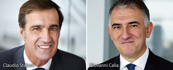 Claudio Stabon and Giovanni Calia