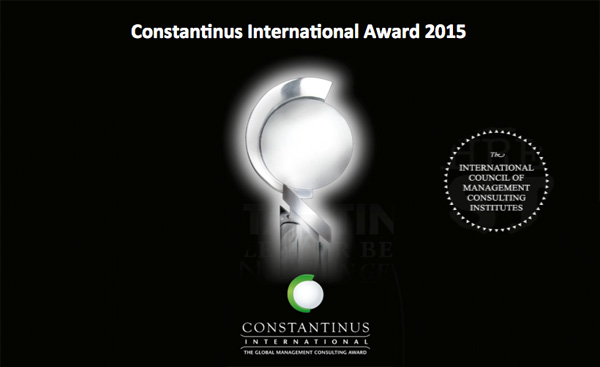 Constantinus International Award 2015