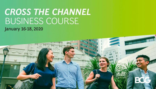 Cross the Channel Business Course 2020