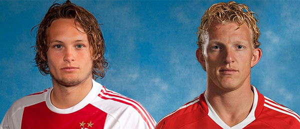 Daley Blind en Dirk Kuyt