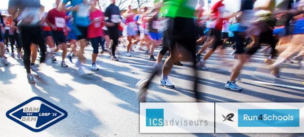 Dam tot Dam - ICS adviseurs - Run4Schools