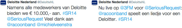 Deloitte - Serious Request