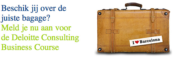 Deloitte Consulting Business Course - Barcelona